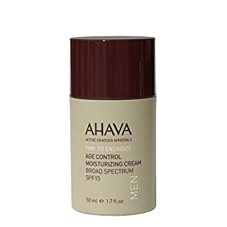 AHAVA Time to Energize Age Control Moisturizing Cream For Men, 1.7 fl. oz.