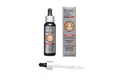Beard Oil for Men & All Hair Types - Made With Natural Oils, Vitamins & Extracts - Smells Great - Fuller-Thicker Beard & Moustache - Citrus Scented Mens Beard Oil/2 oz. Beard Care by Beard Guyz