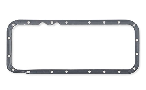 Mr Gasket 61260G Oil Pan Gasket Molded Rubber w/Steel Core And Torque Limiters .140 in. Thickness Oil Pan Gasket
