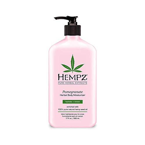 100% Pure Pomegranate Antioxidant - Hempz Pomegranate Herbal Body Moisturizer 17.0 oz