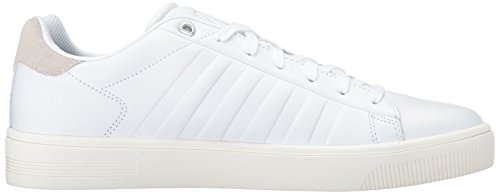 Frasco Men's Swiss K Marshmallow Bone White Court Sneaker wftCCZxq