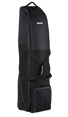 Deluxe Wheeled Golf Bag - Bag Boy T-650 Wheeled Travel Cover Black/Charcoal