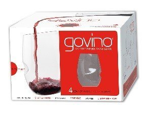 Govino Wine Glass Flexible Shatterproof Recyclable, Set of 4 by Govino (Image #2)