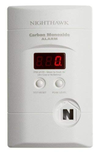4 Pack Of Kidde KN-COPP-3 Nighthawk Plug-In Carbon Monoxide Alarm with Battery Backup and Digital Display Size 4 Pack Color White, Model , Hardware Store