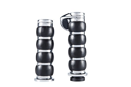 Radracing Motorcycle Rubber Hand Grips with Throttle 1