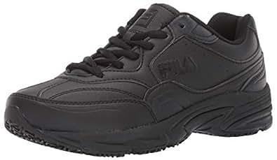 Amazon.com: Fila Men's On The Job Slip Resistant Work Shoe