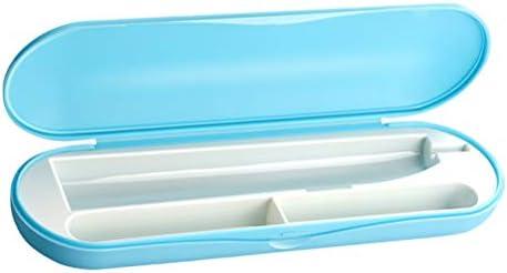 Estuche para cepillo de dientes portátil SUPVOX Cepillo de dientes eléctrico Caja de almacenamiento de la pasta de dientes para viajes Acampar Ridding Senderismo (Azul): Amazon.es: Industria, empresas y ciencia