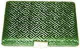 12-Reed Oboe Reed Case Silk with clips (Green Egyptian)