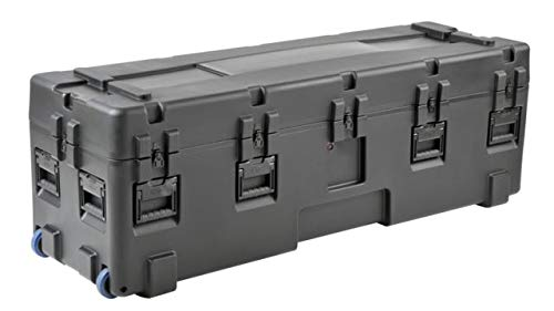 6820 Series - SKB Cases R Series 6820-20 Waterproof Utility Case with Wheels, Black, 68in x 20in x 20in