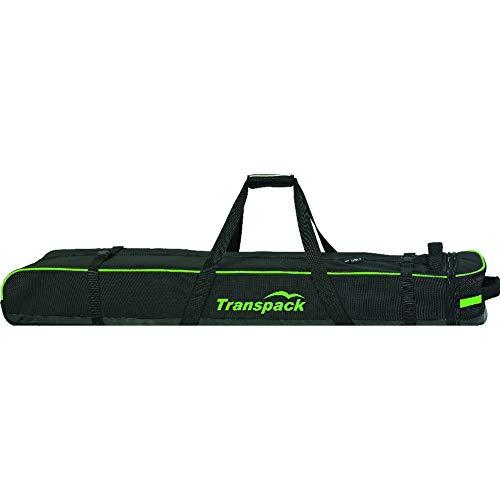 Transpack Ski Vault Double Pro Ski Bag (Black / - Convertible Ski Bag