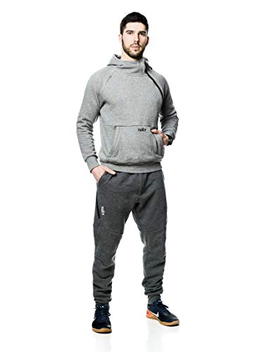 Tuxy The World's Best Onesie (Large, Two Tone Grey) -