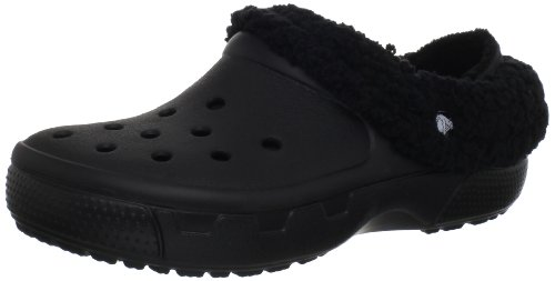 - crocs Unisex Mammoth EVO Lined Clog,Black/Black,5 M US