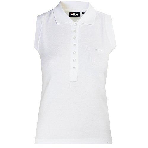 FILA POLO anguilla da donna bianco senza maniche Golf Tennis ...
