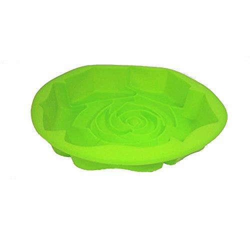 Forma De Bolo Silicone Verde Basic Kitchen