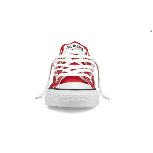 Converse Para Hombre Chuck Taylor All Star Ox Lona Roja Cross Trainer Zapatos 4 Uk