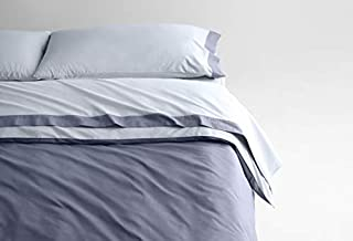 Casper Sleep Soft and Durable Supima Cotton Sheet Set, Queen, Sky/Azure (B079NWHJYR) | Amazon price tracker / tracking, Amazon price history charts, Amazon price watches, Amazon price drop alerts