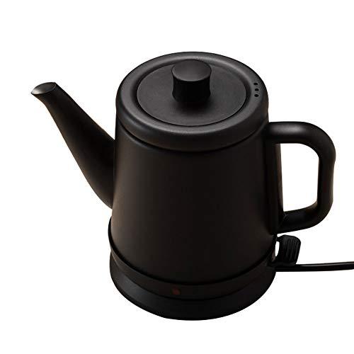 Mini Electric Tea Kettle, Stainless steel, 0.8Liter, Hot Water Heater, Black