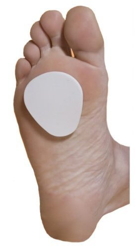 Atlas Biomechanics Felt Metatarsal Pads 1/4'' Thick (100 Pieces) Felt Ball of Foot Cushions by Atlas Biomechanics