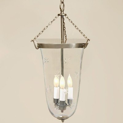 Small Bell Jar Pendant Lights