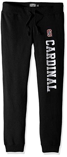 Classic Black Short College - NCAA Stanford Cardinal Women's Ots Fleece Pants, X-Large, Jet Black