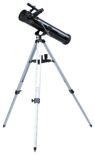 Coleman 700 x 76mm Reflector Telescope with Tripod (Black)