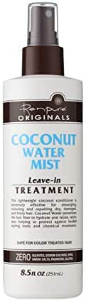 Renpure Coconut Water Mist Leave-In Treatment with Sprayer 8.5 Ounce