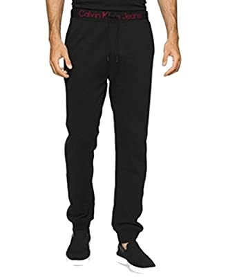 Calvin Klein Red Mens Drawstring Joggers Pants