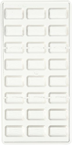 Fat Daddio's Log Polycarbonate Candy Mold, 24-Piece Tray