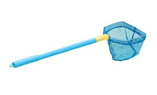 ILLUMINET: FLOATING BAIT NET: Critter Net Shell Net Minnow Net Scoop Net You Pick Color - Blue