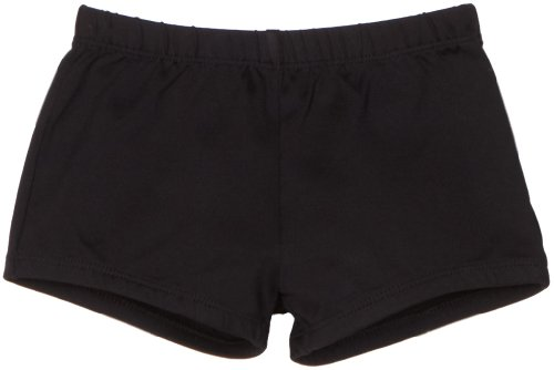 - Danskin Big Girls' Boy Cut Short, Black, Large