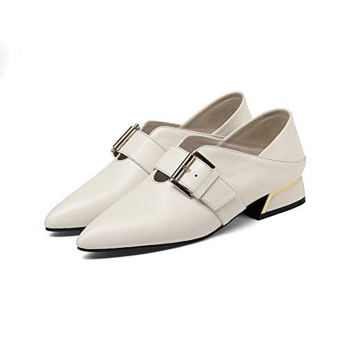 Beige Adeesu De Tacón Mujer Sdc06167 Para Uretano Zapatos HwHRUq7