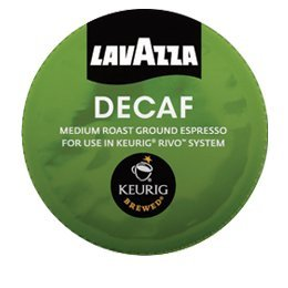 LAVAZZA ESPRESSO DECAFF 90 PACKS made for KEURIG RIVO SYSTEM