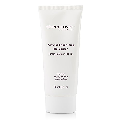 - Sheer Cover Studio - Advanced Nourishing Moisturizer SPF 15 - Oil-Free - 2 Ounces