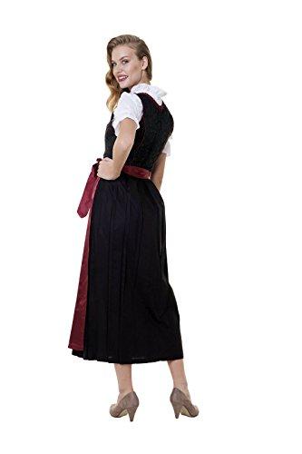 Robe Alpes nbsp;w Chemisier nbsp;– Taille nbsp;– rouge nbsp;costume Noir Set Multicolore nbsp;alm 3tlg 500 34–60 Contes Tablier Bordeaux Dirndl rAWnBqYA