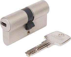 Cylindre de serrure profil/é Abus EC550 /à combinaisons multiples avec 5/cl/és et carte CodeCard ToniTec/®