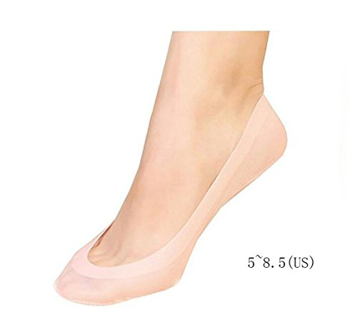 Gauss Kevin Thin Ice Silk No Show Low Cut Liner Socks Women Elastic Nylon Summer Sock Non Slip by Gauss Kevin (Image #1)