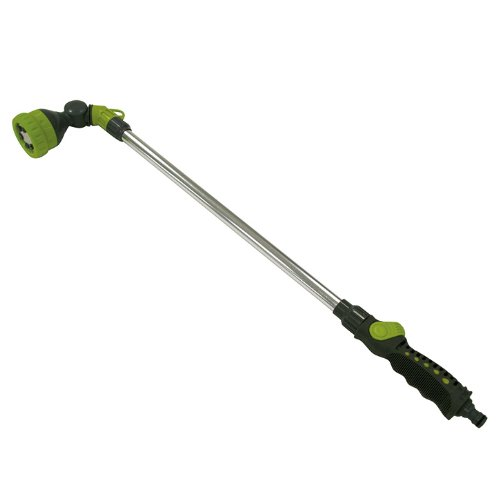 XCLOU-GARDEN-Giestab-stufenlos-regulierbare-Spritzdusche-Gartenbrause-mit-6-Funktionen-Handbrause-mit-schwenkbarem-Sprhkopf-ideal-zur-Gartenbewsserung-Sprenkler-perfekt-fr-die-kurze-Erfrischung-im-Som
