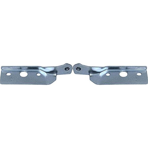 Chevrolet Cavalier Hood Replacement - Evan-Fischer EVA19972058159 Hood Hinge for Chevrolet Cavalier 99 Steel Set of 2 Front Left and Right Side Lower