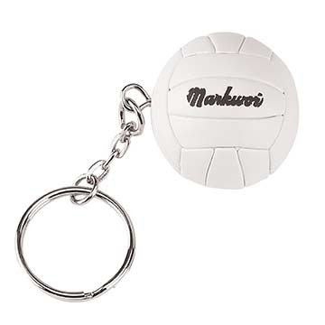 Authentic Sports Shop Synthetic Leather Volleyball Key Ring