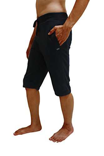 YogaAddict Men Yoga Shorts, Comfortable Pants, for Any Yoga, Pilates, Outdoor, Gym, Fitness, Workout