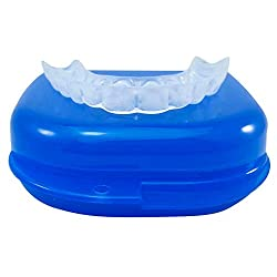Thin Slim Soft Custom Teeth Night Guard - Teeth Grinding - Teeth Clenching Dental Guard - Slim Thin Fit For Small Mouth - Great For Day Or Night Use - For Upper Teeth - Bruxism Mouth Guard