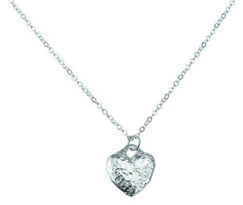 Tin Anniversary Tin Heart - Made from 100% Pure Tin