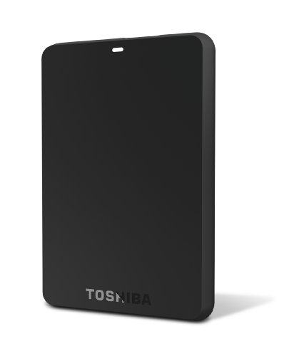 Toshiba Canvio Basics 3.0 1 TB Portable Hard Drive (Black)(HDTB210XK3BA)
