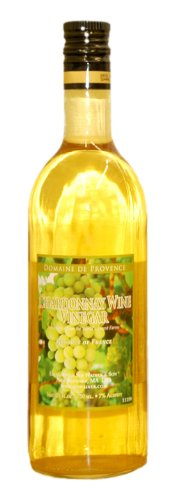 Domaine de Provence Chardonnay Wine Vinegar, 25 Ounce (Chardonnay Domaine Du)