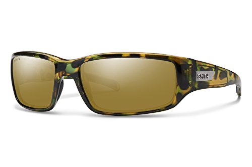 Smith Optics Prospect Chromapop Polarized Sunglasses, Flecked Green Tortoise, Bronze Mirror (Smith Sonnenbrillen Pivlock)