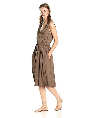 BCBGMAXAZRIA Damen Kleid Oliv