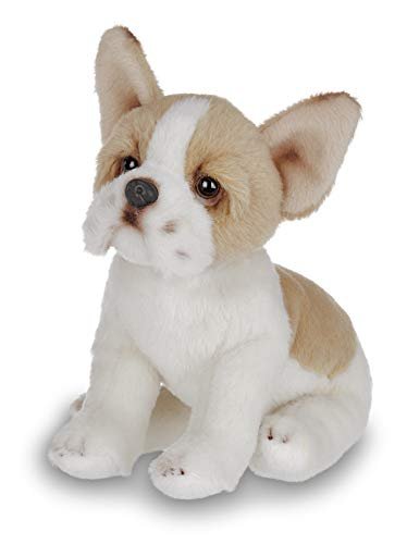 Bearington Lil' Frenchie Small Plush French Bulldog Stuffed Animal Puppy Dog, 6 inches -