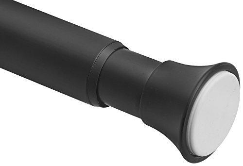 - AmazonBasics Tension Shower Doorway Curtain Rod, 54-90