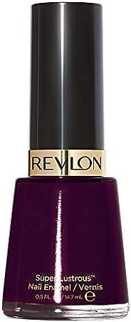 Revlon Super Lustrous Esmalte de Uñas, Black Cherry, 14.7 ml/0.5 oz, Paquete de 1