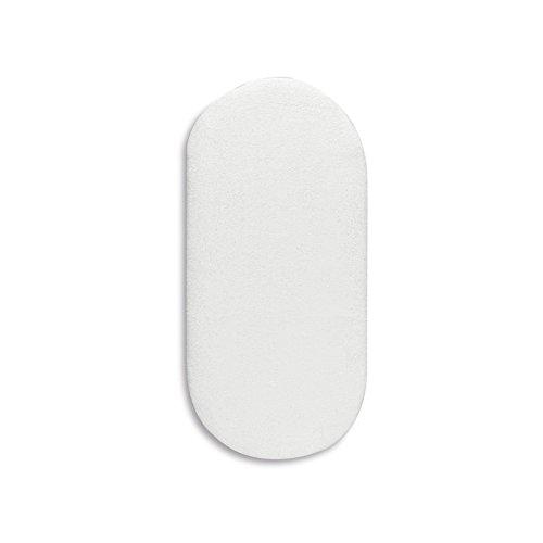 Pirulos 42200001 - Protector colchón, algodón, 40 x 80 cm, color blanco Coimasa